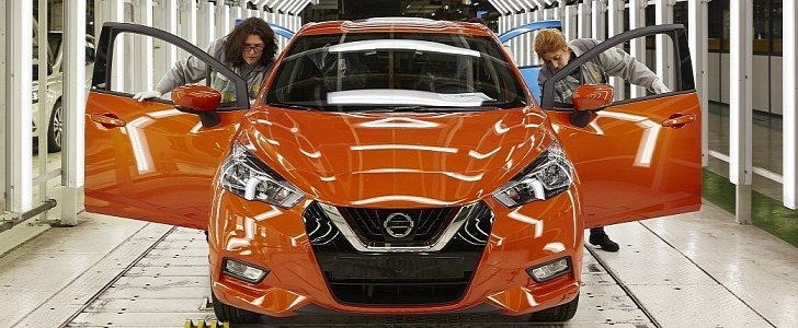 2017 nissan micra enters production in france autoevolution. Black Bedroom Furniture Sets. Home Design Ideas