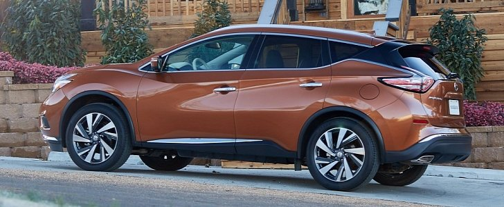 2017 Nissan Murano Goes On Sale From $30,640 - autoevolution
