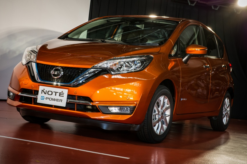 2017 Nissan Note E Hybrid Revealed In An Does 2 7 L 100km