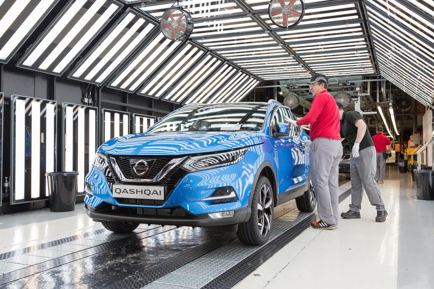 2017 Nissan Qashqai Facelift Now In Production At