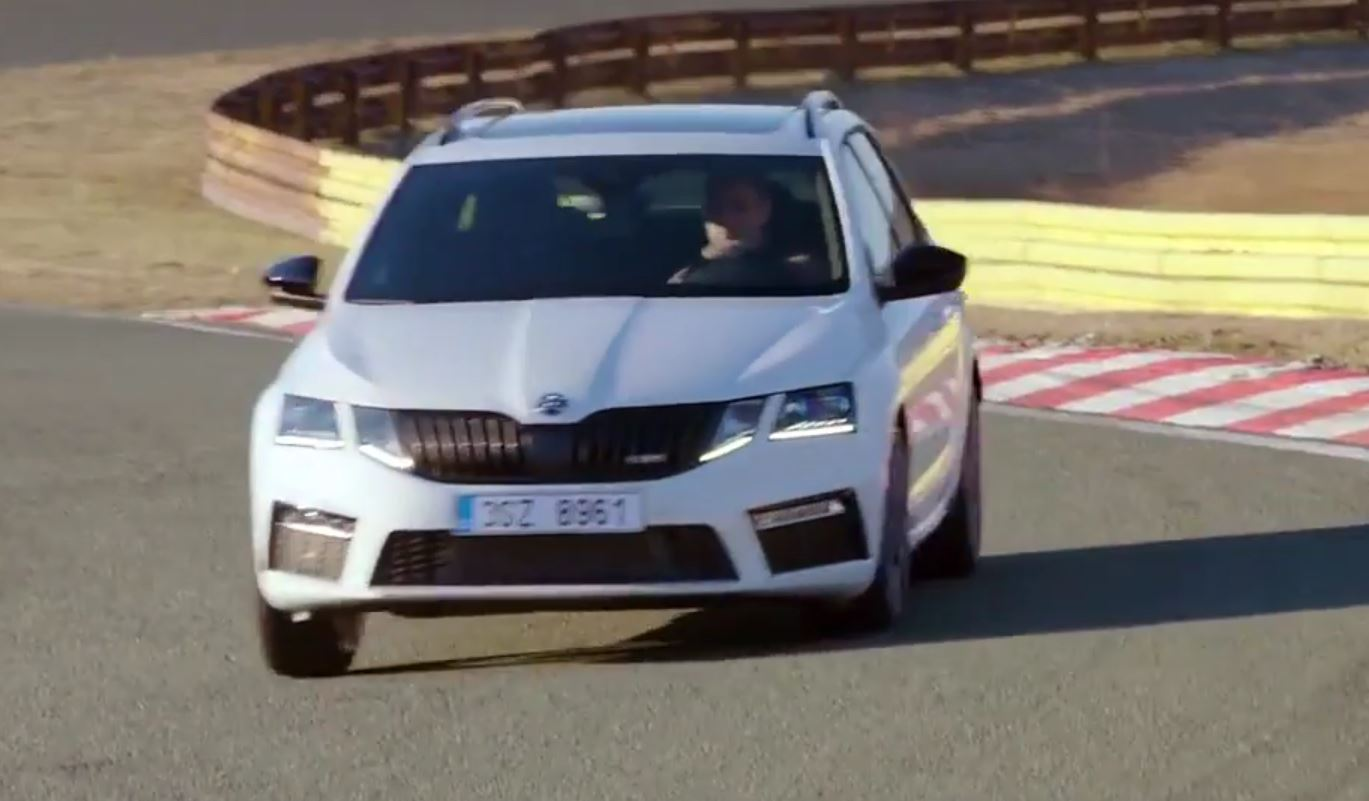 2017 octavia rs pops exhaust in first video gets configurator autoevolution. Black Bedroom Furniture Sets. Home Design Ideas