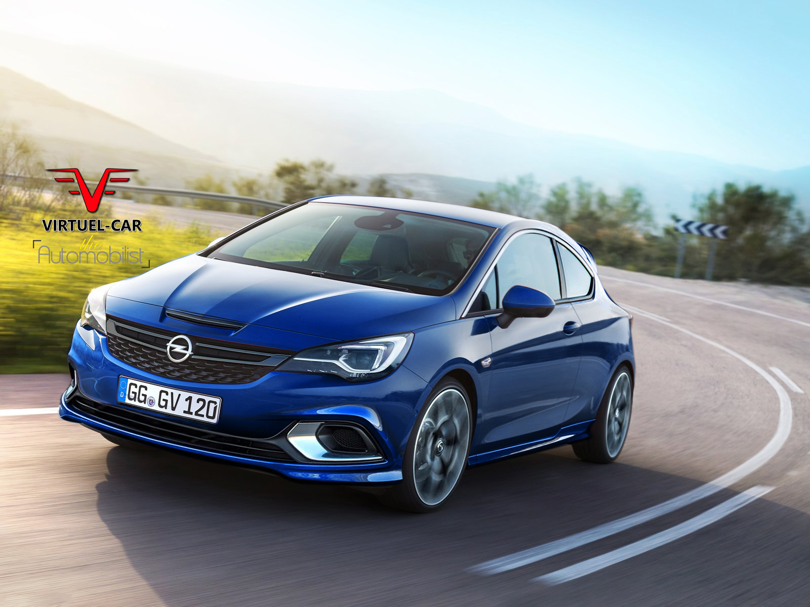 2017 opel astra opc rendered could use tuned 1 6 liter. Black Bedroom Furniture Sets. Home Design Ideas