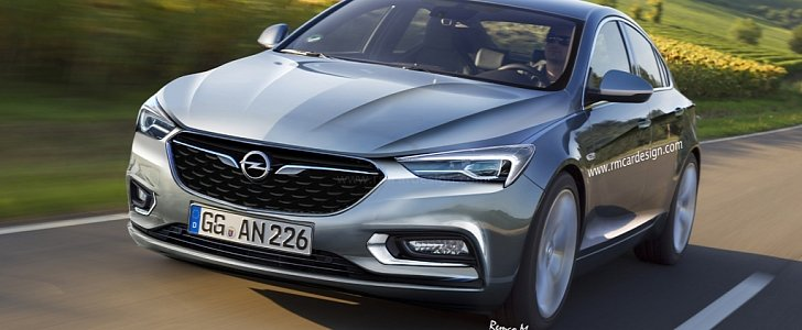 2017 opel insignia b rendered based on latest buick design. Black Bedroom Furniture Sets. Home Design Ideas