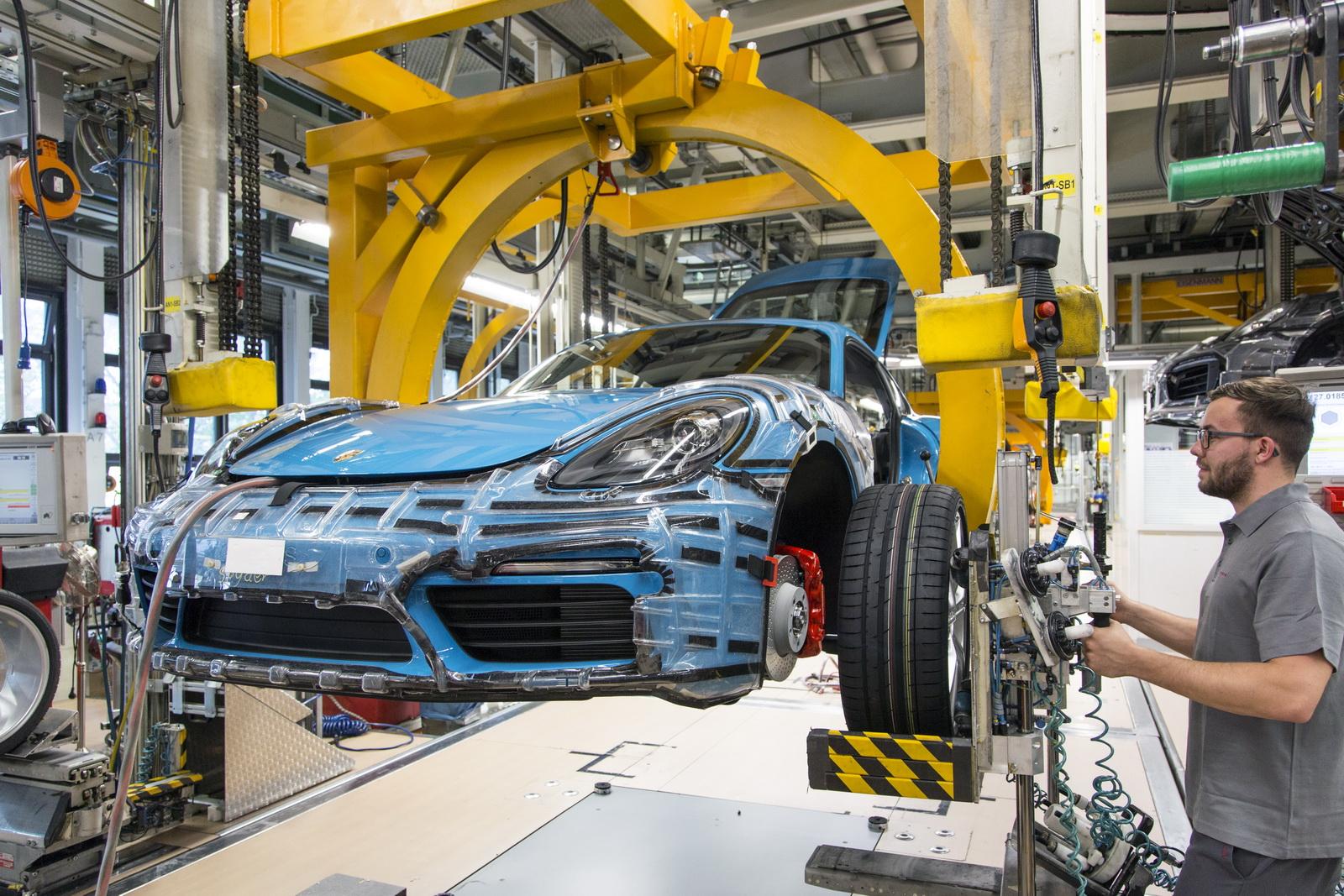 2017 Porsche 718 Cayman Goes Into Production Autoevolution