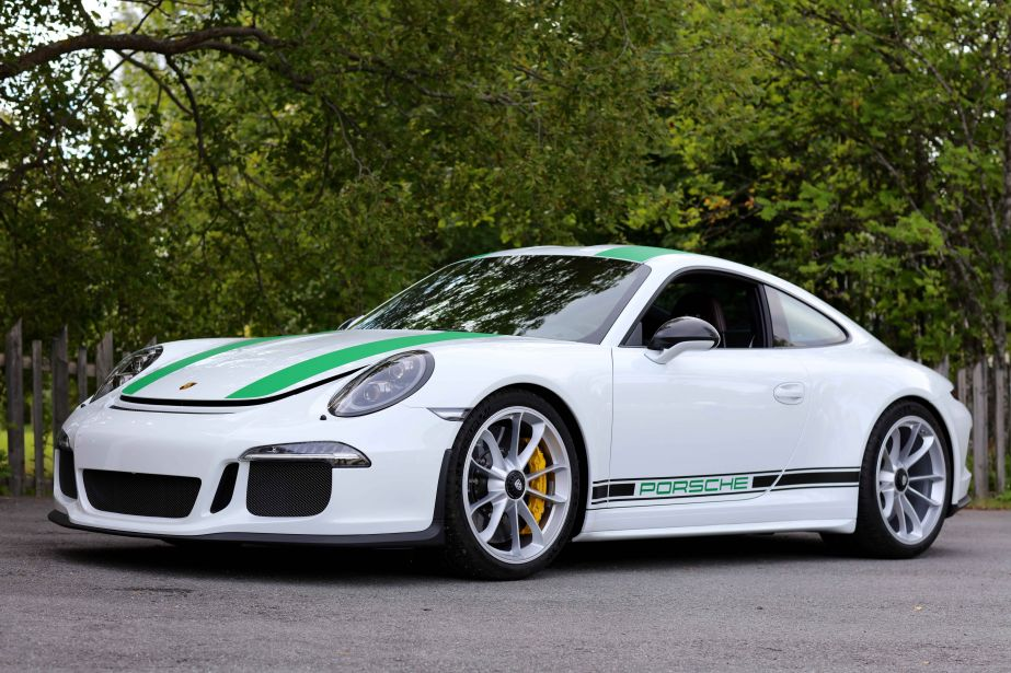 2017 porsche 911 r already being auctioned off price. Black Bedroom Furniture Sets. Home Design Ideas