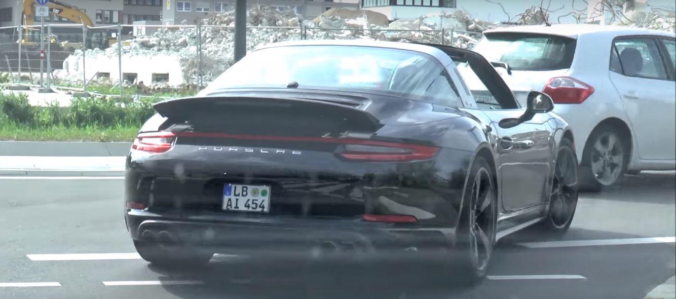 2017 Porsche 911 Targa 4 Gts 991 2 Facelift Spied Completely Naked