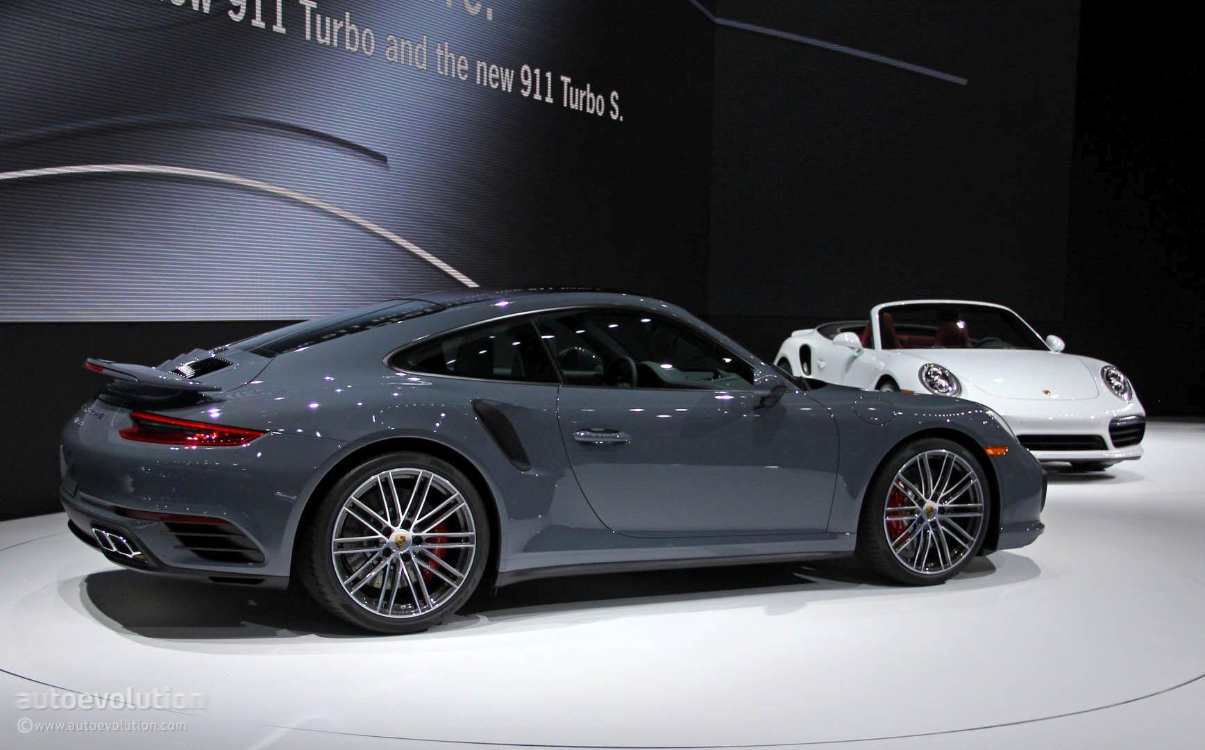 2017 Porsche 911 Turbo S Bring Their Anti Lag Tech Wizardry To Detroit