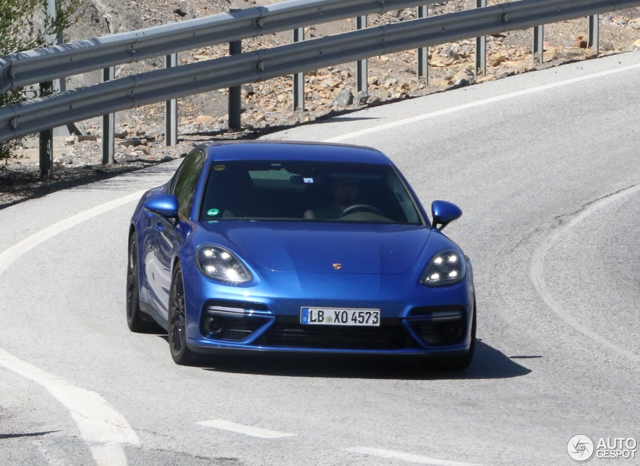 2017 Porsche Panamera Turbo Already Shows Up In Spanish Traffic