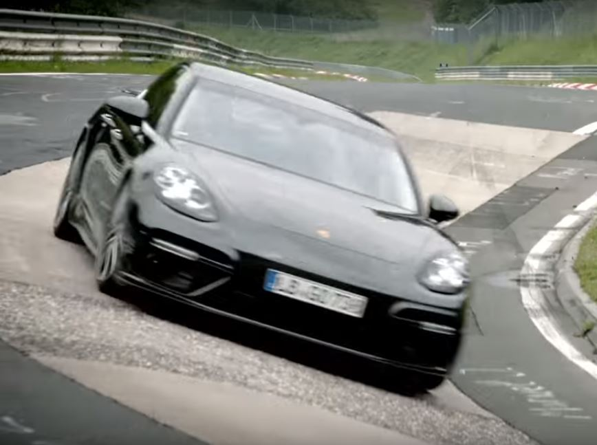 Updated Porsche Panamera Turbo Sets Ring Time Fastest