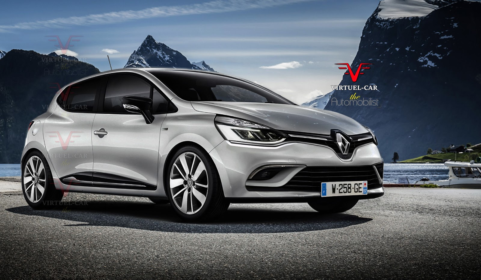 2017 renault clio iv facelift rendered based on recent leak autoevolution