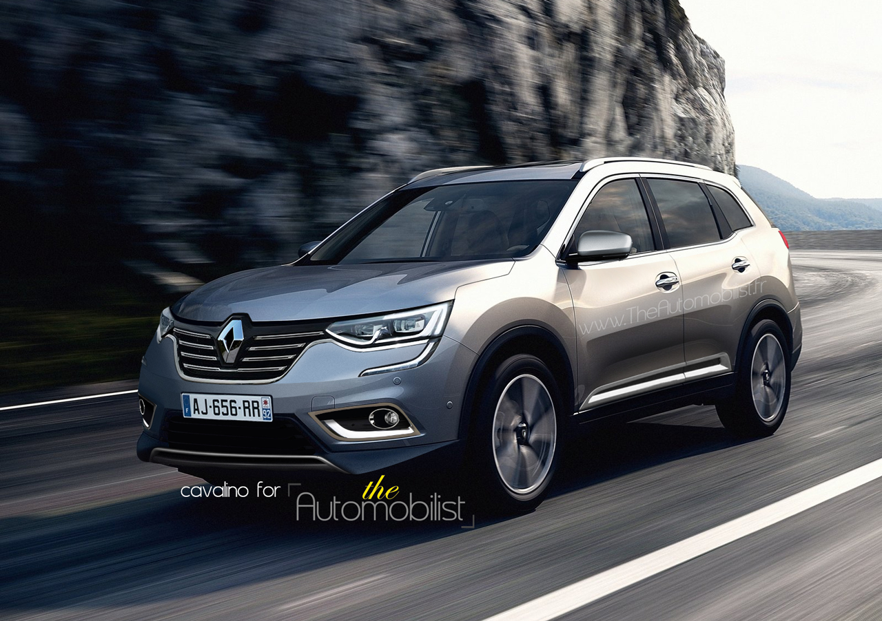 2017 renault koleos grand kadjar masterfully rendered for Kadjar interieur 7 places