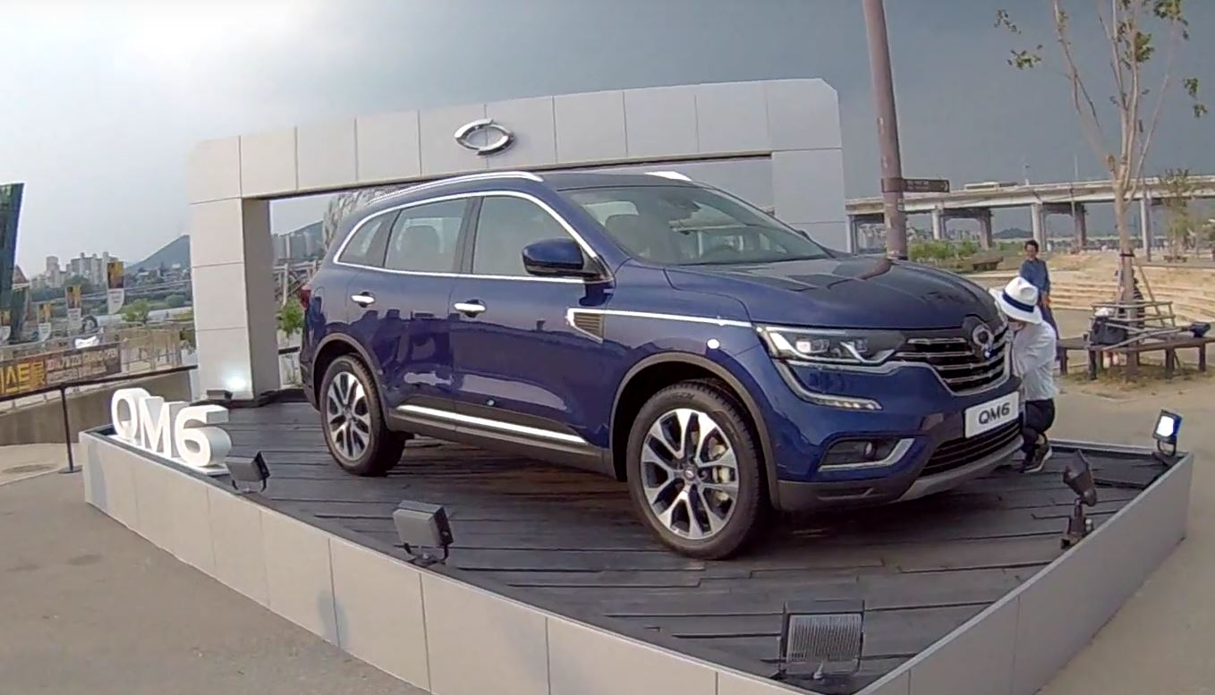 2017 renault koleos qm6 launched in korea with 2 0 dci. Black Bedroom Furniture Sets. Home Design Ideas