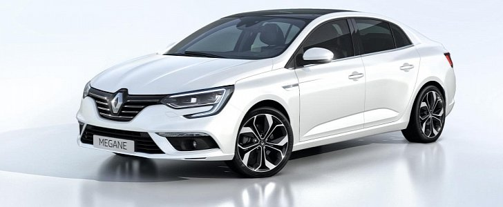 2017 renault megane sedan unveiled it 39 s better than the fluence autoevolution. Black Bedroom Furniture Sets. Home Design Ideas