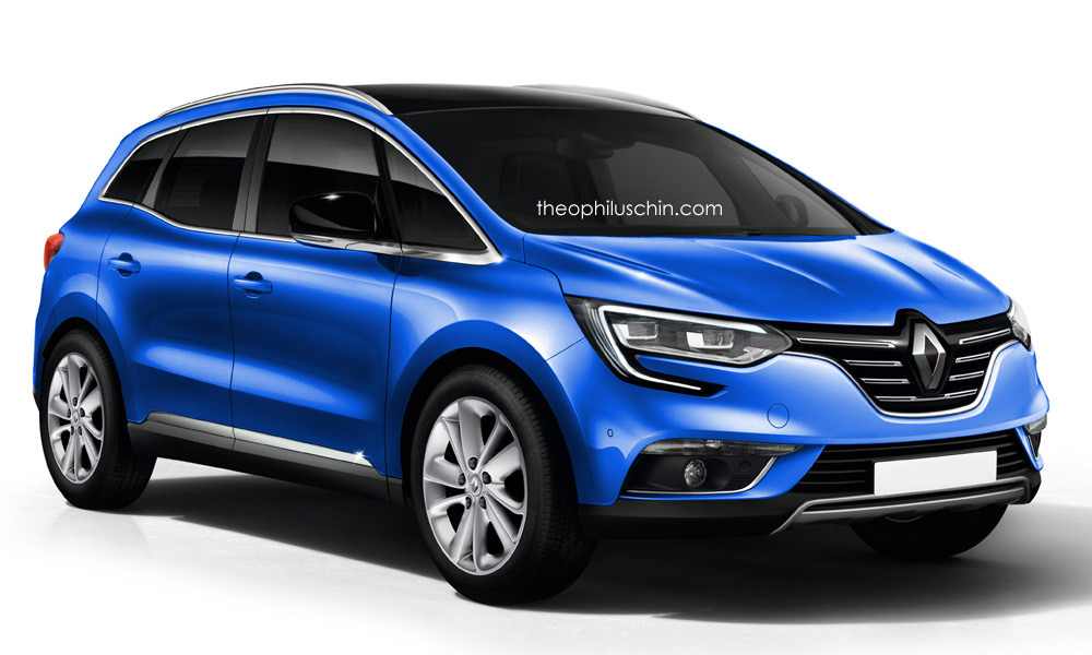 2017 renault scenic accurately rendered autoevolution. Black Bedroom Furniture Sets. Home Design Ideas