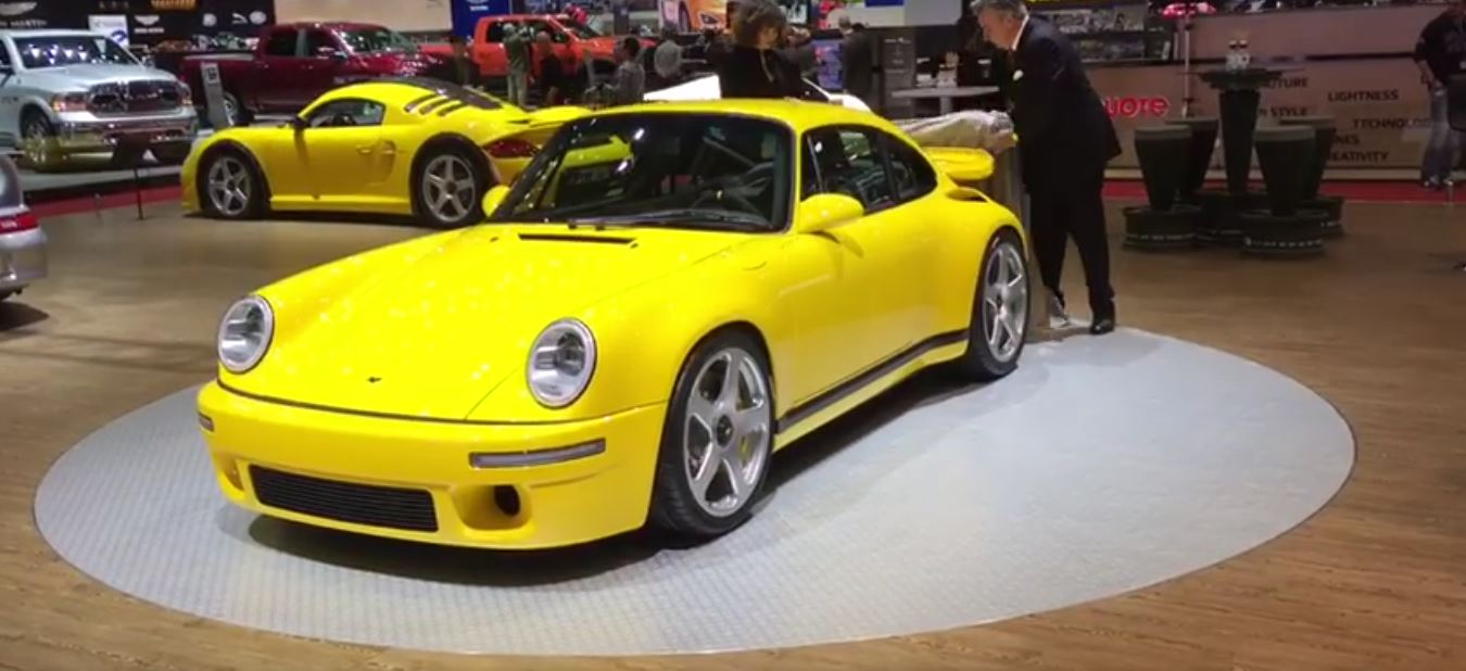 2017 ruf ctr borrows infamous yellowbird look skips 911 chassis for carbon tub autoevolution. Black Bedroom Furniture Sets. Home Design Ideas