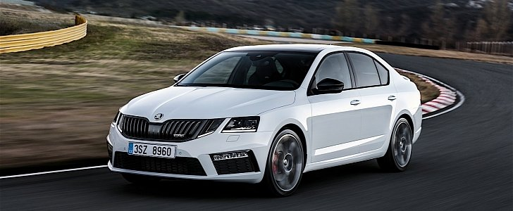 2017 skoda octavia rs 245 debut imminent autoevolution. Black Bedroom Furniture Sets. Home Design Ideas
