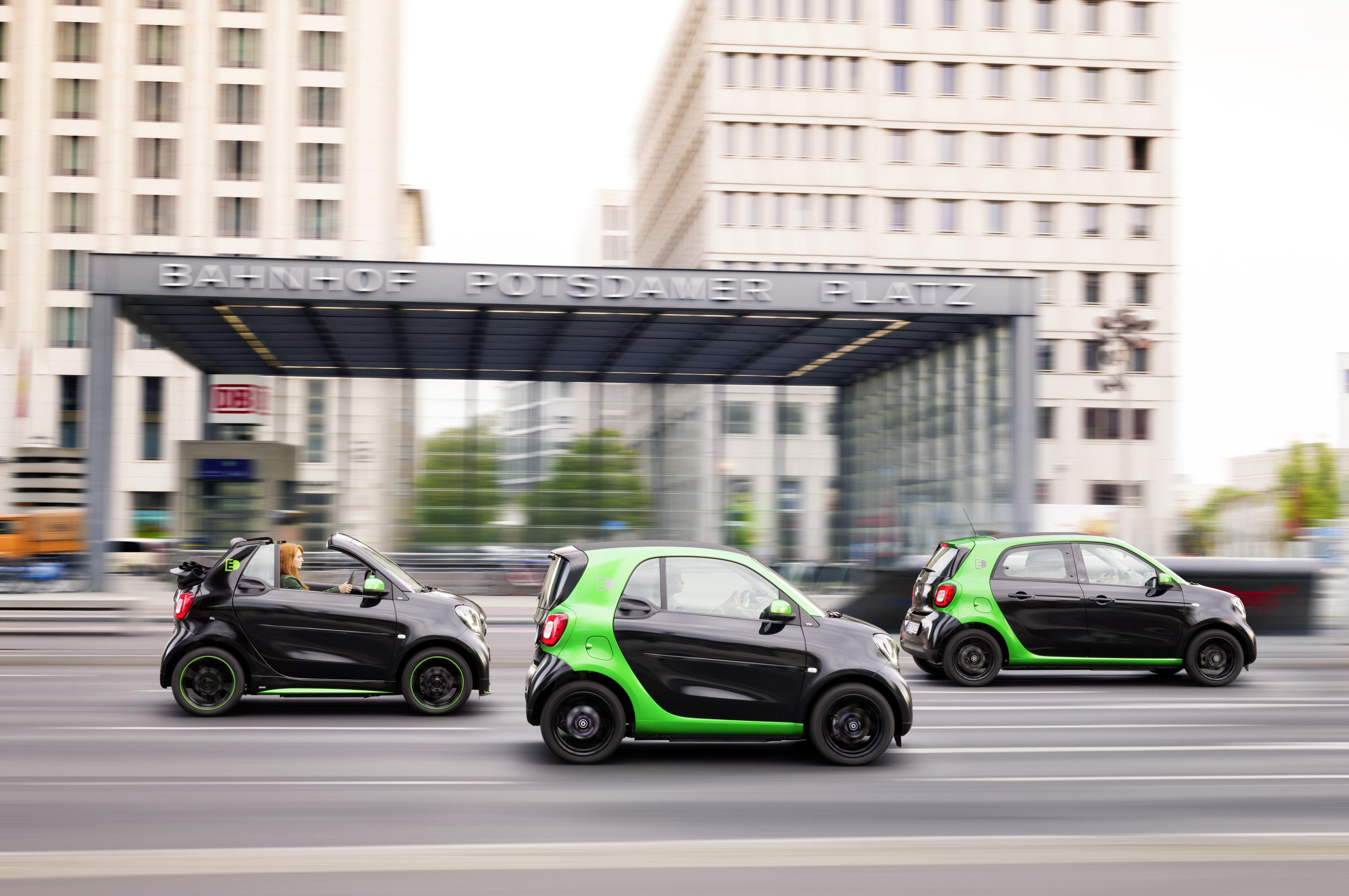 2017 Smart Electric Drive Fortwo Lineup