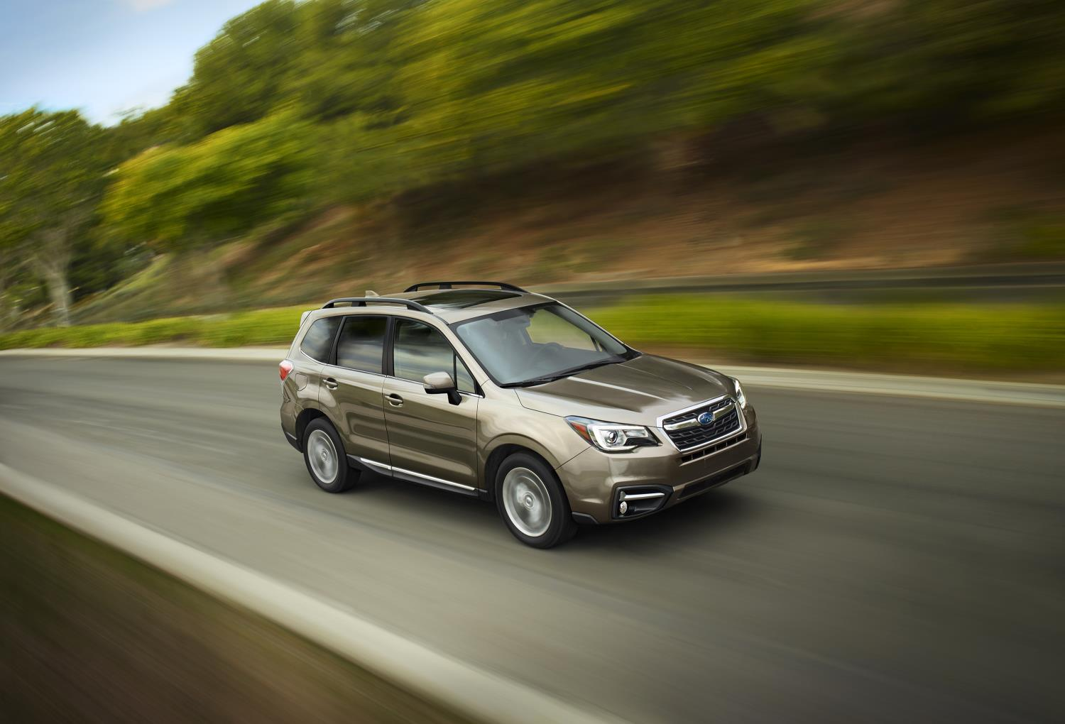2017 subaru forester unveiled comes with more tech and improved fuel economy autoevolution. Black Bedroom Furniture Sets. Home Design Ideas