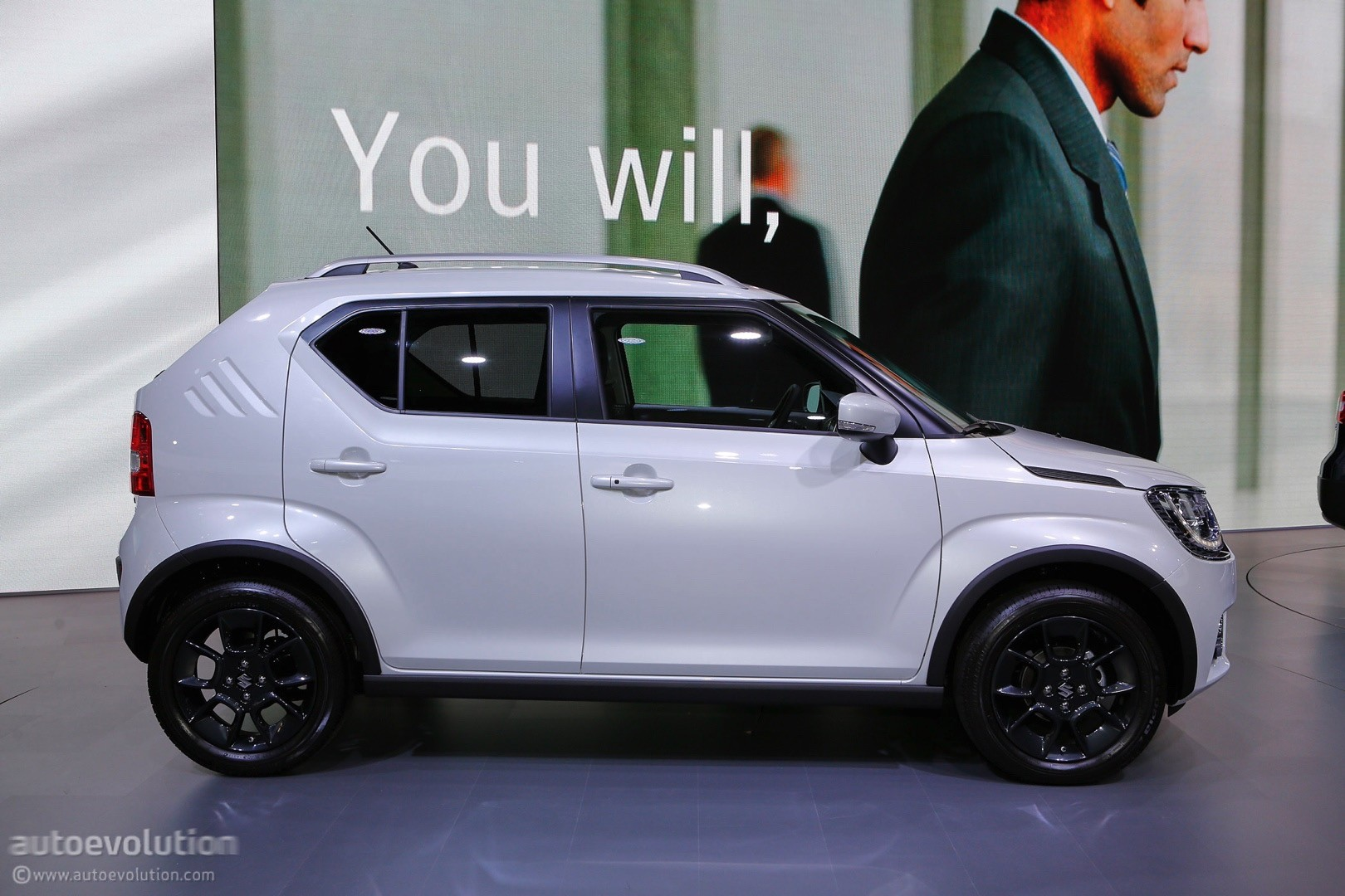 2017 Suzuki Ignis Live At 2016 Paris Motor Show