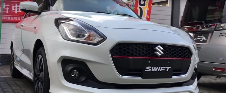 new car launches in japan2017 Suzuki Swift Launched in Japan Gets Detailed Walkaround