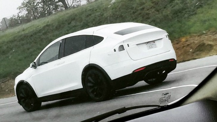 2016 tesla model x production ready prototype spied on i for Tesla motors palo alto