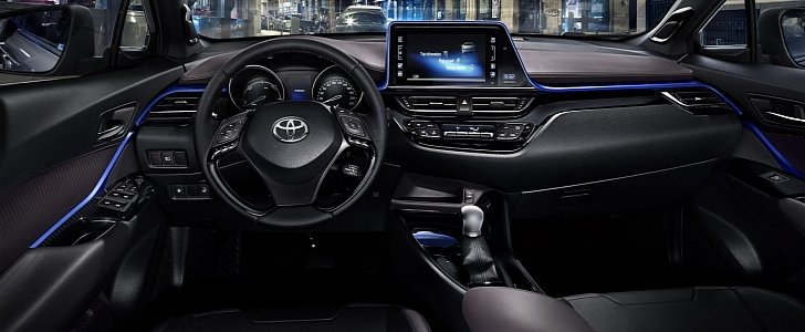 2017 toyota c hr interior design unveiled autoevolution