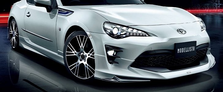 2017 toyota gt 86 gets modellista body kit in japan   autoevolution
