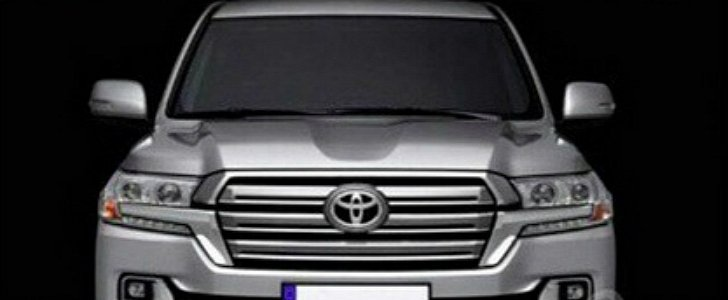 2017 Toyota Land Cruiser Facelift Revealed In Leaked Pics