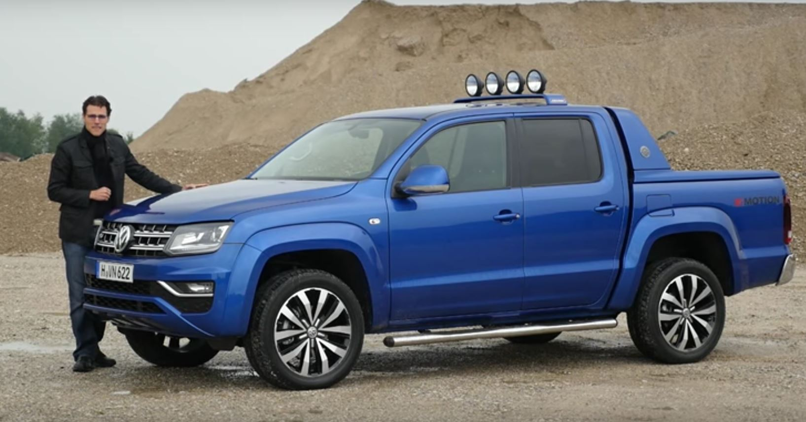 2017 Volkswagen Amarok 3.0 TDI 224 HP Acceleration Test and Review - autoevolution