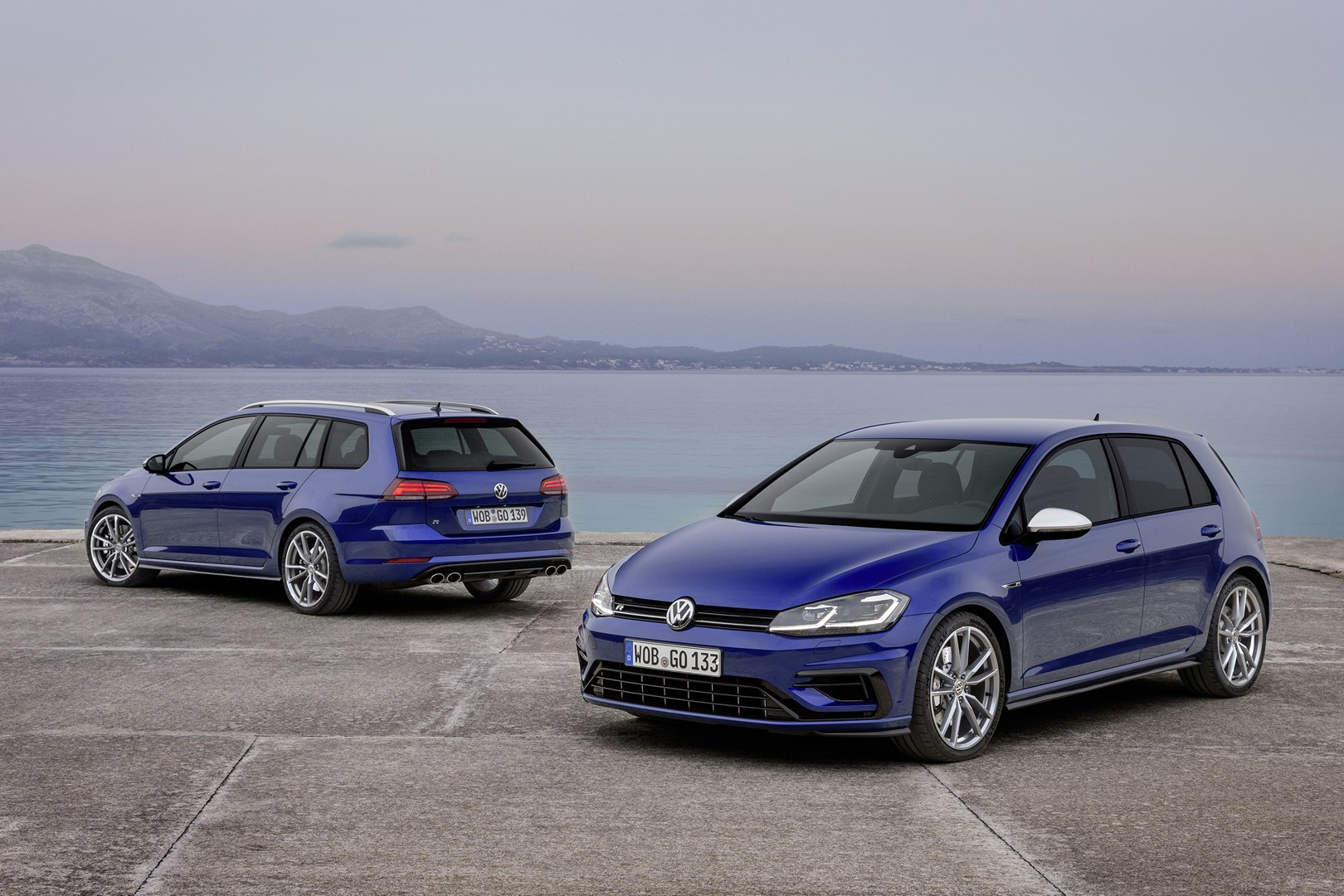 2017 Volkswagen Golf R Frolicks With Variant Both Get Hp Boost And New Tesh