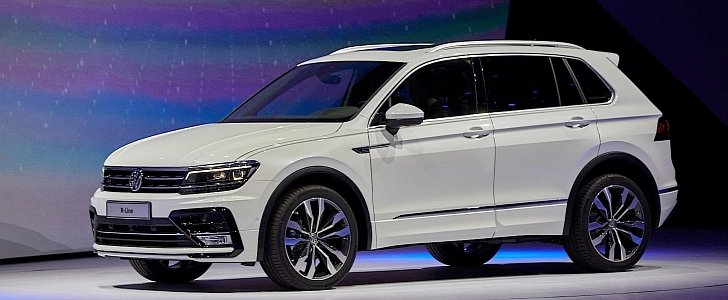 2017 volkswagen tiguan is all grown up in frankfurt autoevolution. Black Bedroom Furniture Sets. Home Design Ideas