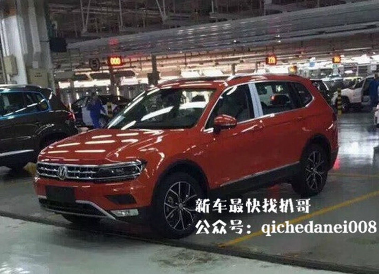 2017 Volkswagen Tiguan Xl Sned By The Carparazzi In China