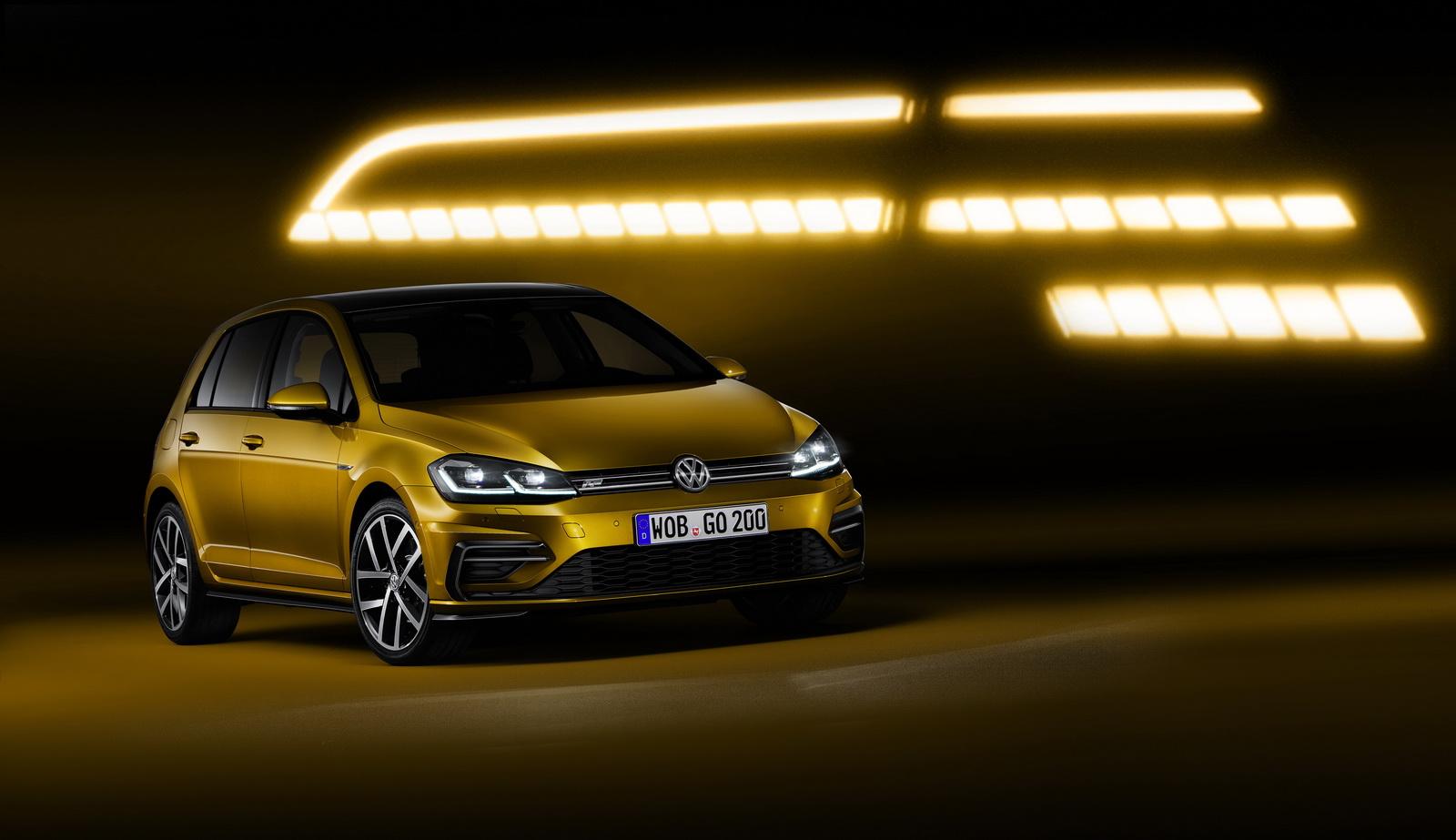 2017 Volkswagen Golf Sportwagen Tsi S >> 2017 VW Golf Facelift Debuts With 1.5 TSI, LED Headlights and Golden Paint - autoevolution