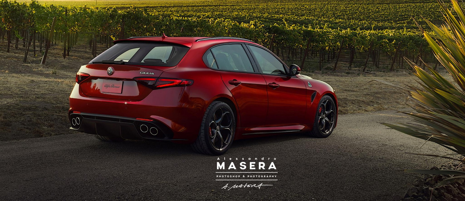 2018 alfa romeo giulia sportwagon reportedly in the offing autoevolution. Black Bedroom Furniture Sets. Home Design Ideas