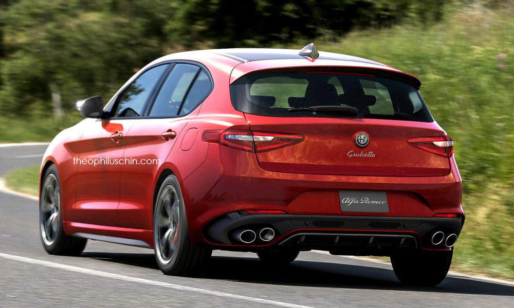 New Giulietta 2018 >> 2018 Alfa Romeo Giulietta Quadrifoglio Rendered Looks Like A