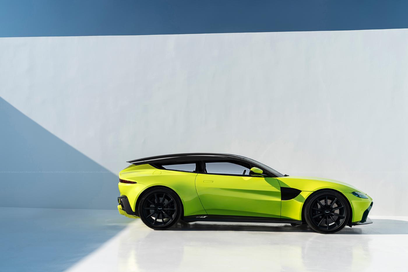 2018 Aston Martin Vantage Shooting Brake Rendering Makes