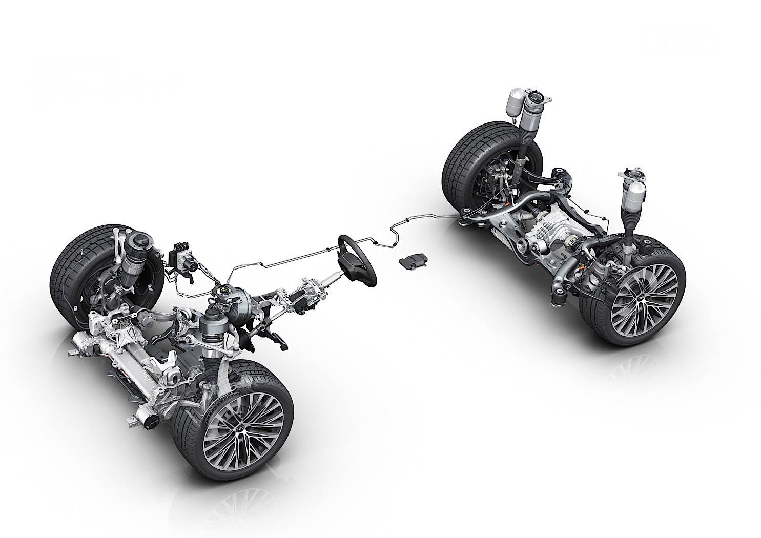 Audi Demonstrates Active Suspension System Of The Next-Generation A8 Saloon