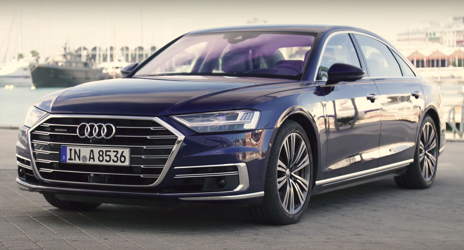 2018 Audi A8 First Reviews It S A Techfest Autoevolution