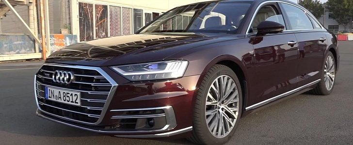 2018 audi a8 w12 has 585 hp but it doesn 39 t sound good. Black Bedroom Furniture Sets. Home Design Ideas