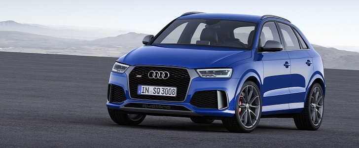 2018 audi q3 will have 3 cylinder engines phev version autoevolution. Black Bedroom Furniture Sets. Home Design Ideas