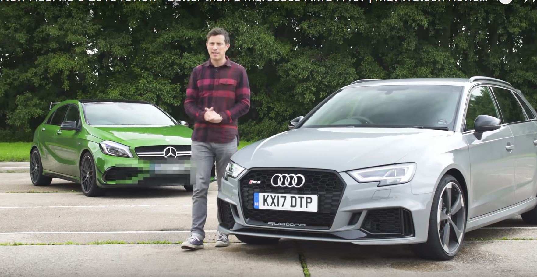 2018 Audi RS3 Hatchback Is More Fun Than Mercedes-AMG A45, Says