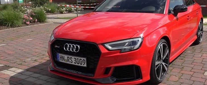2018 Audi Rs3 Sedan Sound Check And