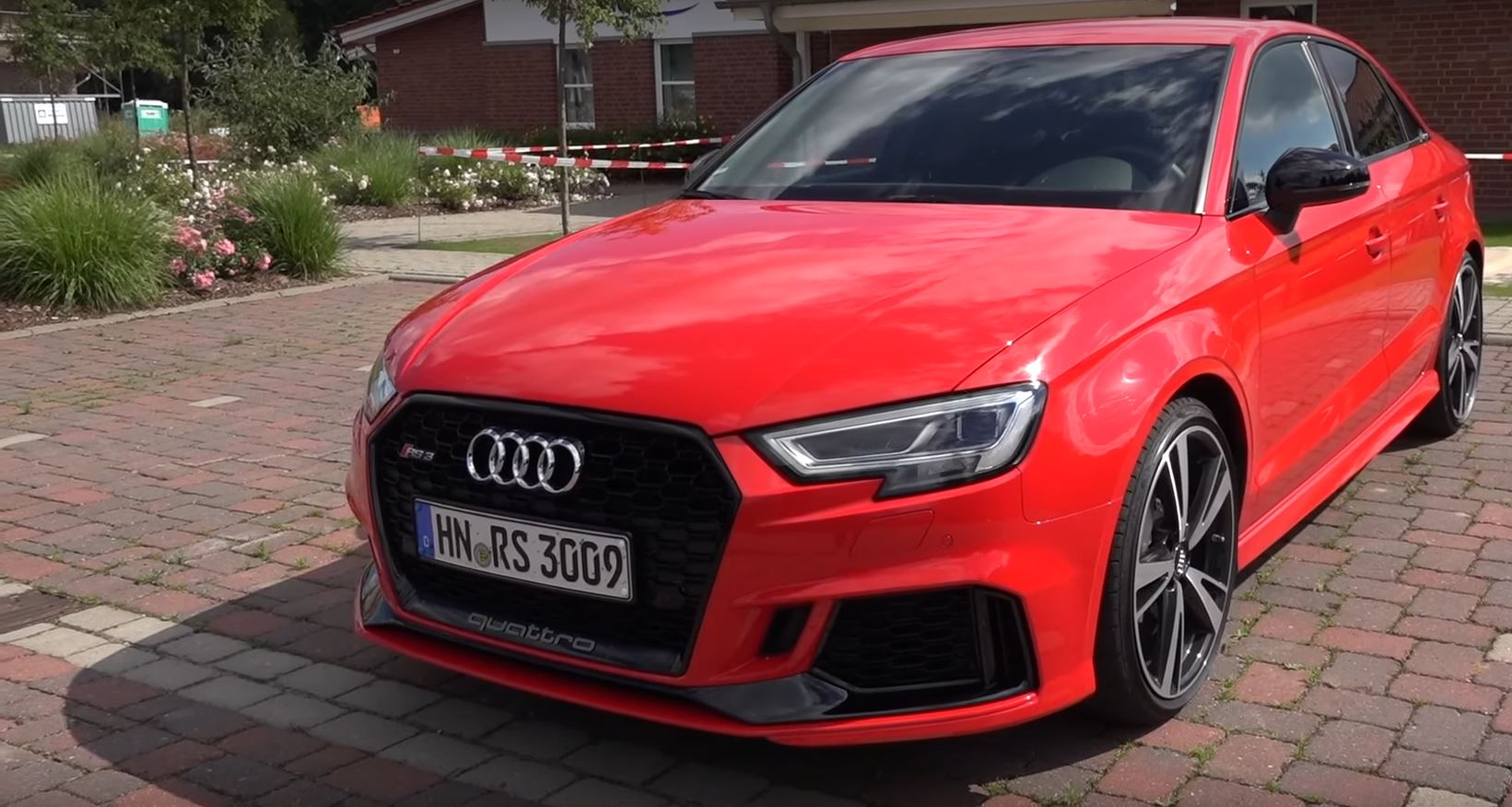 2018 audi rs3 sedan sound check and acceleration test - autoevolution