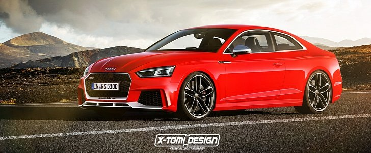 2018 Audi Rs5 Coupe Accurately Rendered Using New S5 And