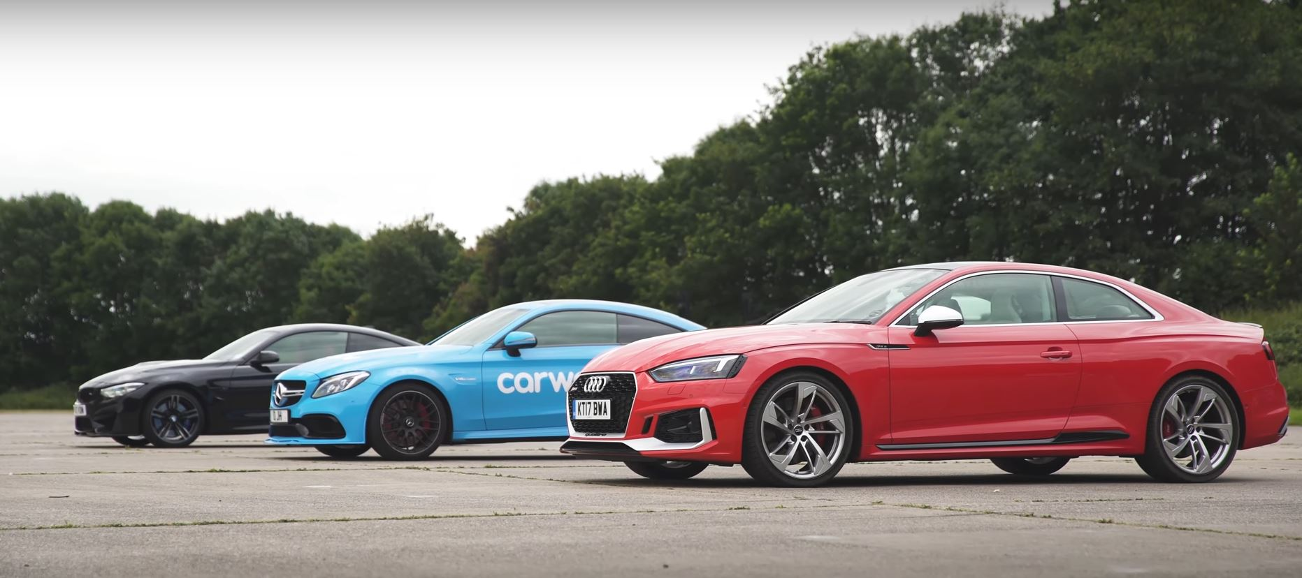 2018 Audi RS5 Drag Races BMW M4 and Mercedes-AMG C63 S ...