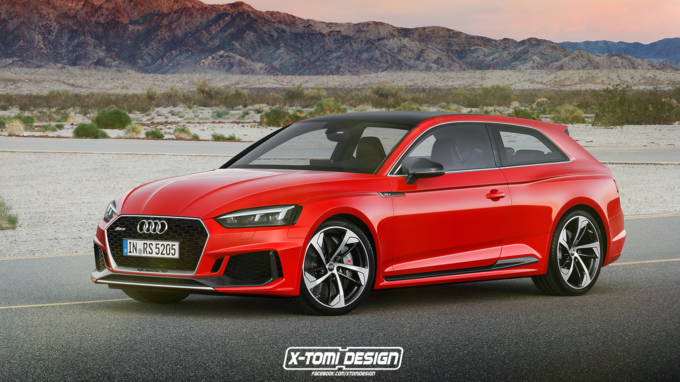 2018 audi rs5 is now a shooting brake cabriolet and sportback autoevolution. Black Bedroom Furniture Sets. Home Design Ideas