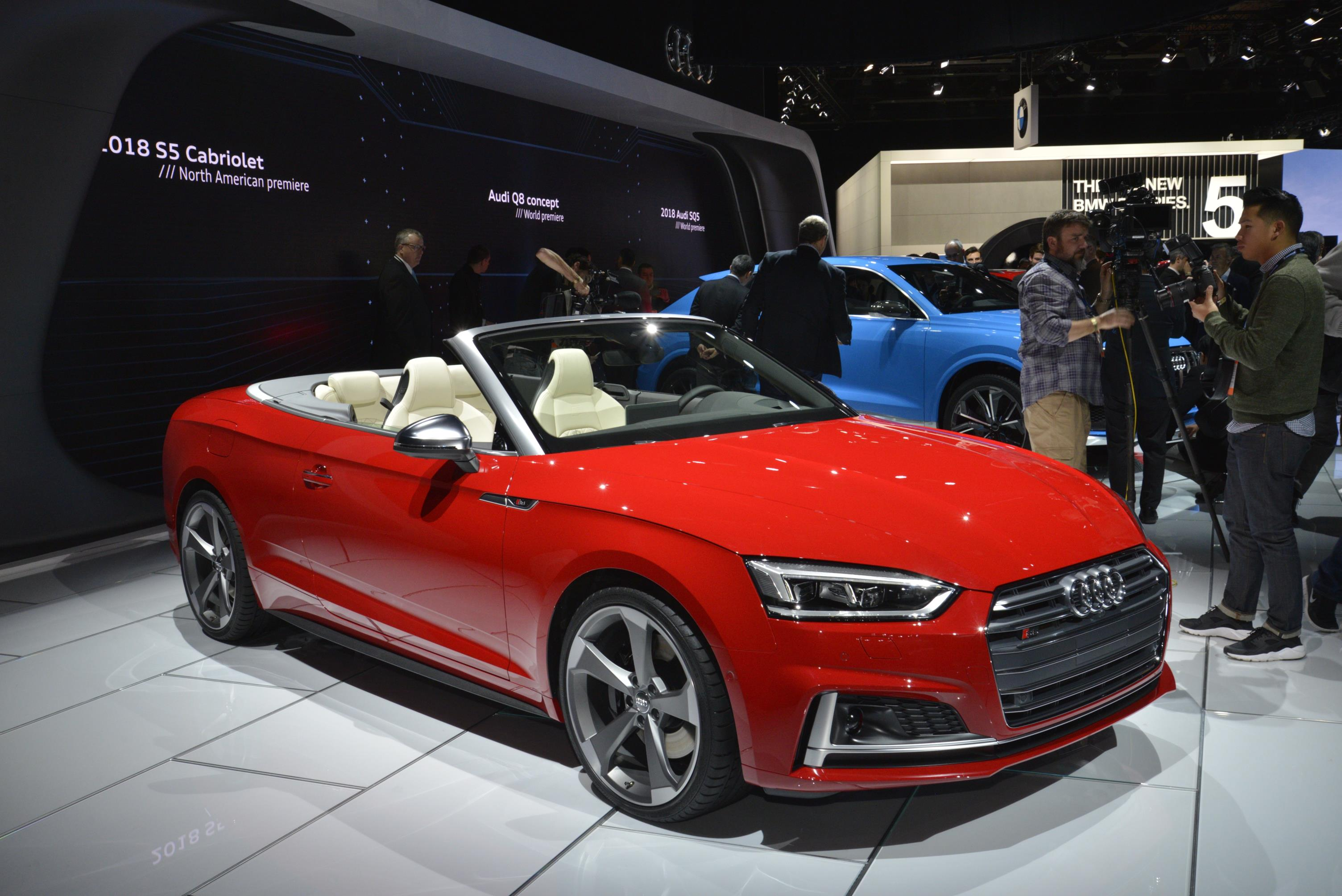 2018 audi convertible. brilliant audi 2018 audi s5 cabriolet has one of the best interiors in detroit intended audi convertible