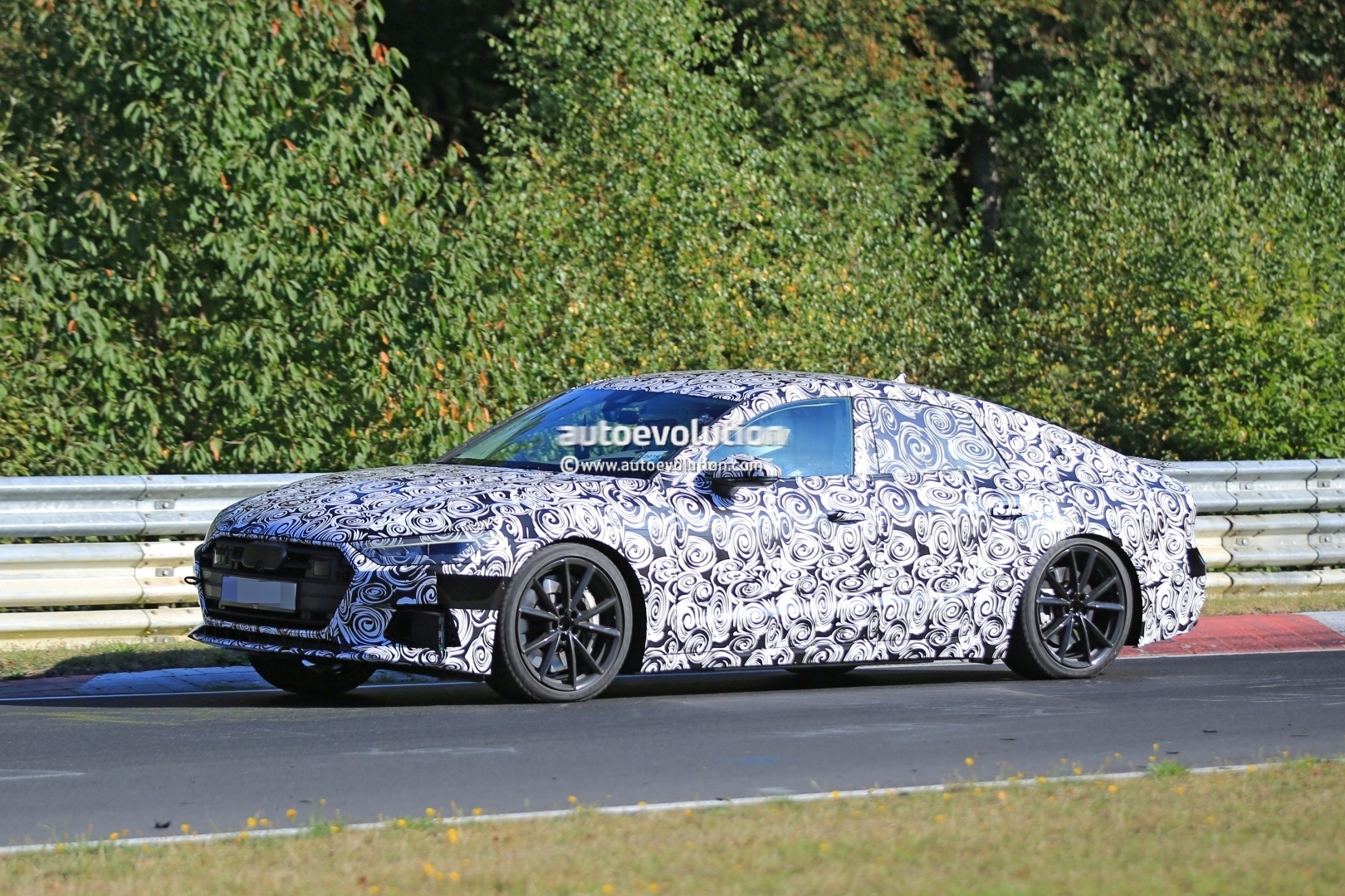 Audi S Laps Nurburgring Early Reveals Serious Performance - 2018 audi s7