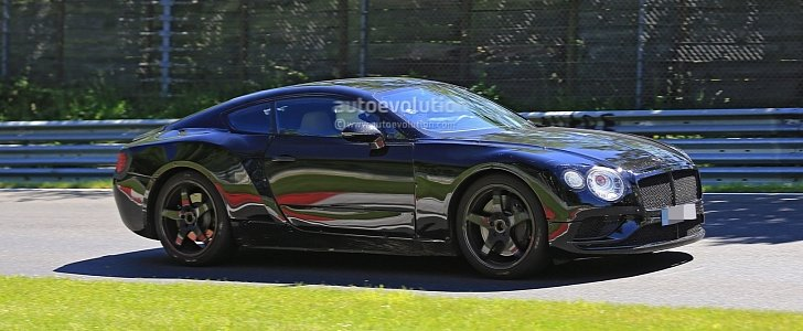 2018 bentley sports car. perfect bentley 2018 bentley continental gt spied lapping the nurburgring  autoevolution to bentley sports car l