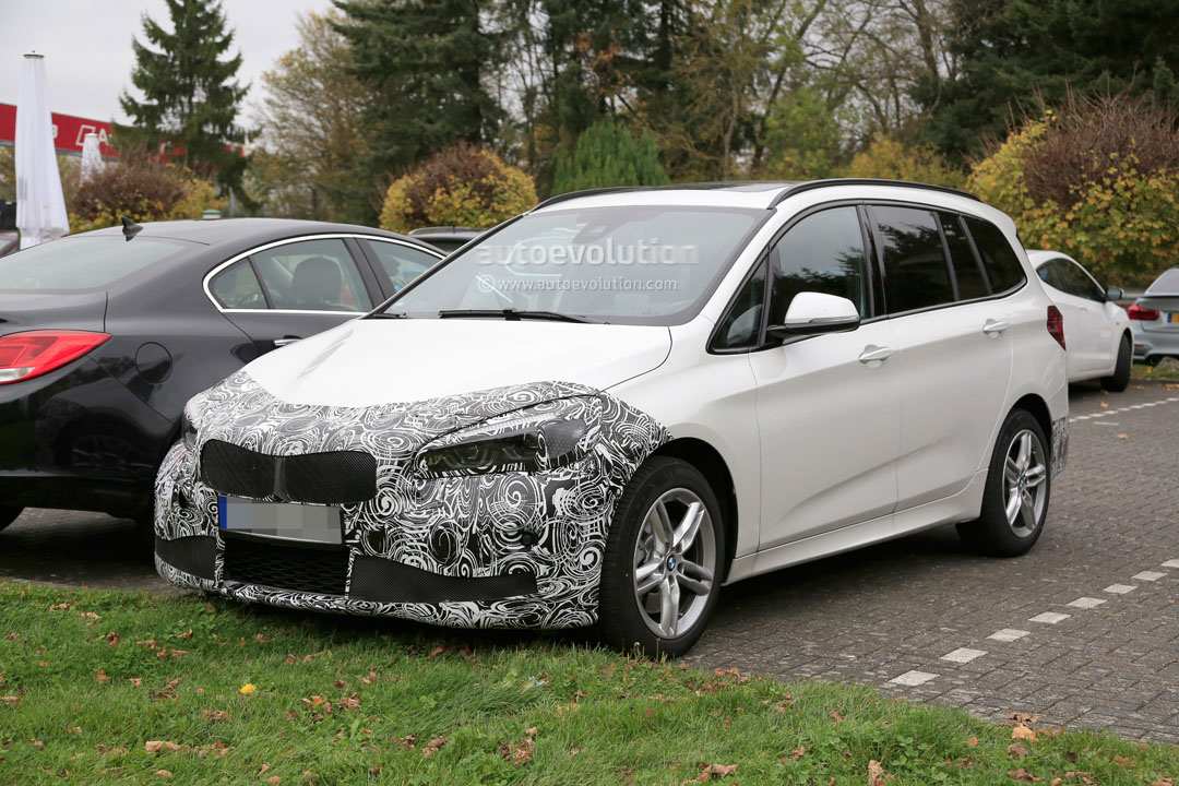 2018 bmw 2 series gran tourer facelift spied up close and personal autoevolution. Black Bedroom Furniture Sets. Home Design Ideas
